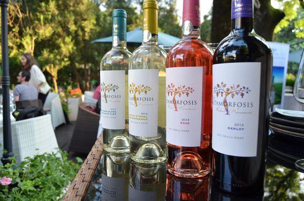 El diseño de YG Design también presente en vinos de #Rumania Vitis Metamorfosis (Antinori)