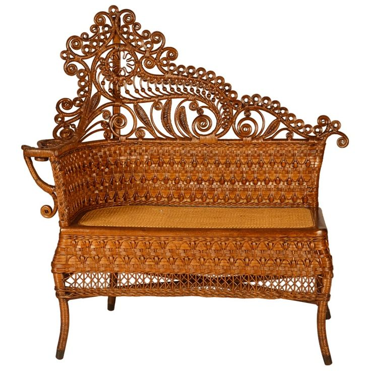 by American Vintage Home   Heywood Wakefield rattan furniture circa late  1800 s  early 1900 s. 104 best Vintage Wicker   Rattan images on Pinterest