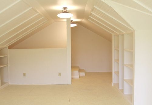 Craft room space - yep, I will totally take attic space when we settle in our new MI home!!