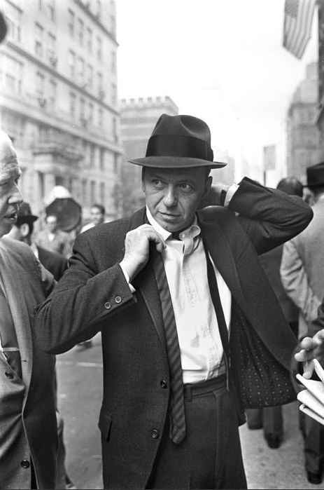"Frank Sinatra filming ""The Detective"" on location- 1967"