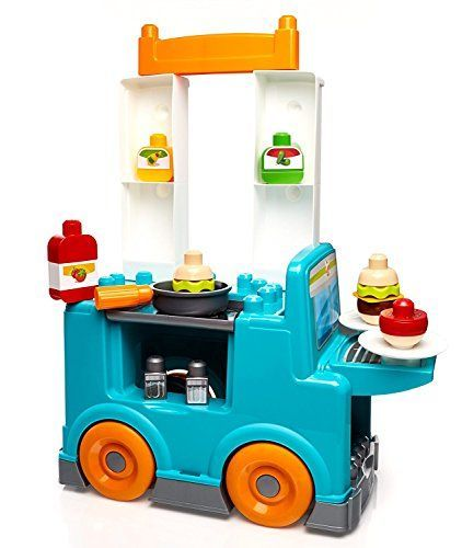 Mega Bloks First Builders Food Truck Kitchen Building Set >>> Be sure to check out this awesome product.