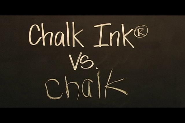 @Kristie Jackson @Amber J. Simmons @Whitney Josephine Chalk Ink Vs Chalk by Johnny Video. www.ChalkInk.com