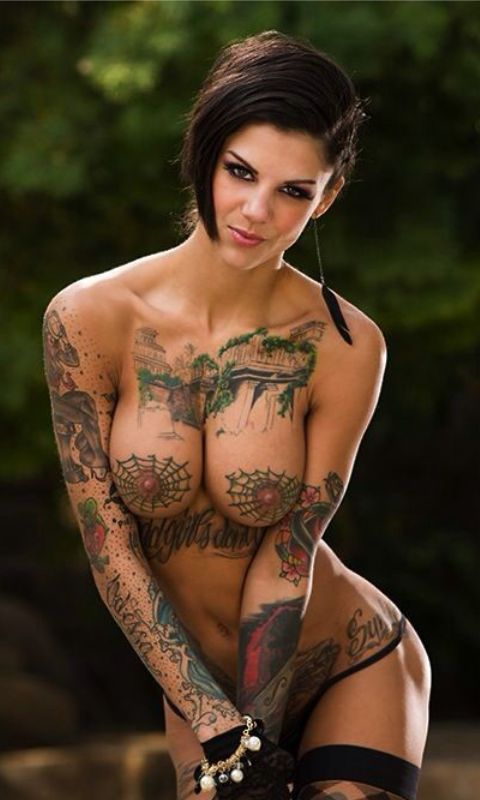 tattoed porn stars girls