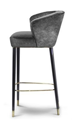NUKA BAR CHAIR - Contemporary Mid-Century / Modern Transitional Stools - Dering Hall