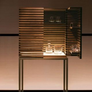 riesling bar cabinet by armani casa i like the lighting inside tho space doesnt look v practically distributed