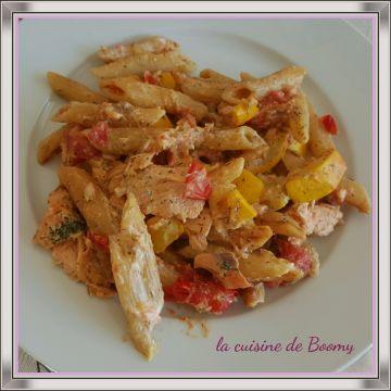 Je n'ai pas échappé à ce One pot Pasta qui fait le tour des blogs culinaires depuis un petit moment. L'idée c'est de tout faire cuire ensemble sans mélanger les ingrédients au préalable. Idéal pour un repas du soir et équilibré en fonction de ce que vous...