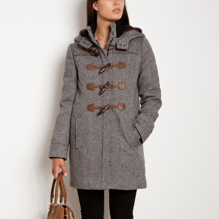 Shelby Tweed Duffle Coat | Women's Tops Jackets Outerwear | Roots