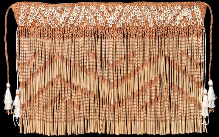 Karl Rangikawhiti Leonard is one of New Zealand's finest practitioners of Māori weaving. Discover more about the Koromāhanga technique used across his series of Piupiu.
