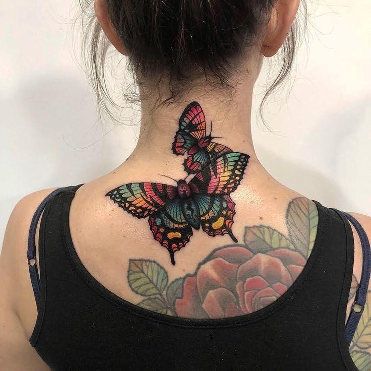 #Butterfly #Tattoos 21 Entzückende Schmetterling Tattoos
