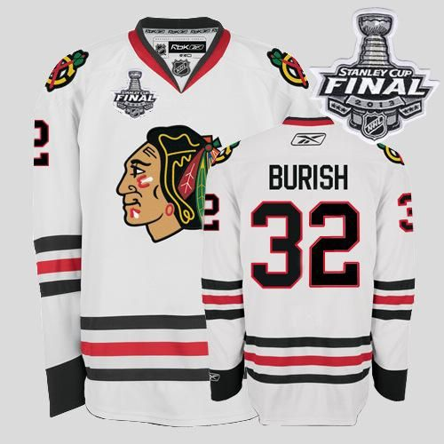 d0a448c27621 ... Jerseys Chicago Blackhawks 32 Kris Versteeg Embroidered White With Stanley  Cup Finals NHL Jersey ...