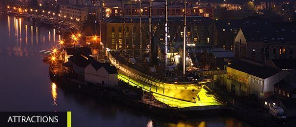 Illuminated Boat Parade at Bristol Harbour Saturday 12 December 2015