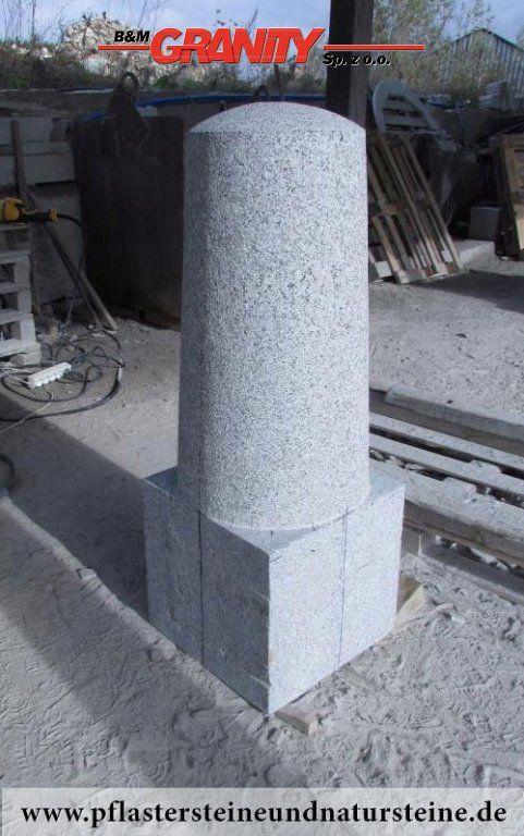 Granit Palisaden Granit Saulen Granit Pfosten Granit Stelen Granit Zaunpfosten Natursteinpalisaden Natursteinpfosten Usw Grauer Granit Http Www Pflast