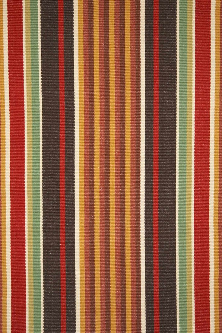 Dash Amp Albert Rug Company 187 Montana Stripe Woven Cotton