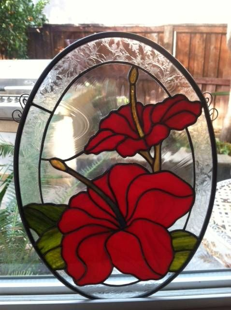 Hibiscus Stained Glass Related Keywords Suggestions Hibiscus