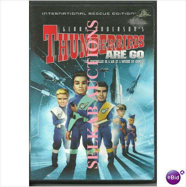 Thunderbirds Are Go Movie by Gerry Anderson DVD Region 1 9780792860990 on eBid Canada