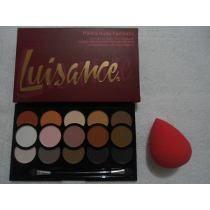 Paleta Sombra Nude Fosca (b) + Esponja Tipo Beauty Blender