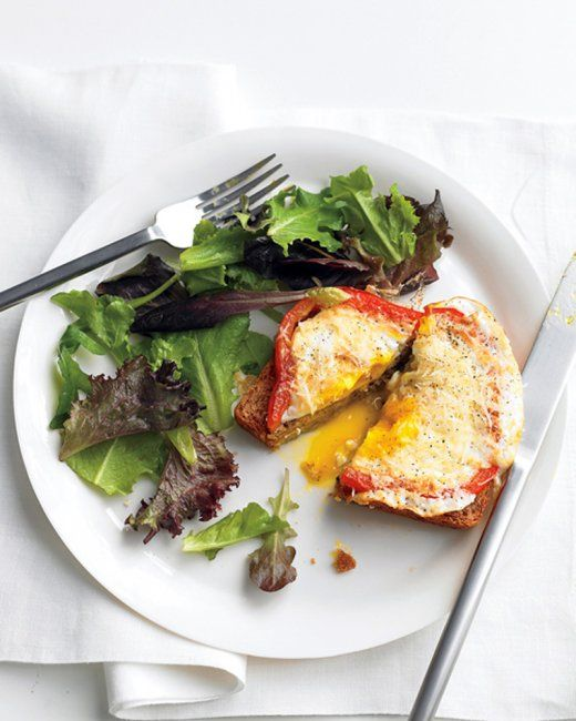 pepper egg in a hole bell pepper egg in a hole recipe more healthy