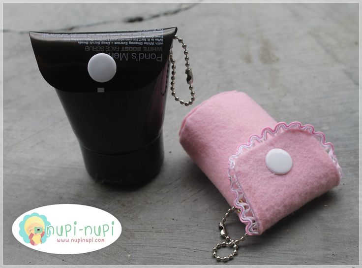 You can make this coin purse very easily (: