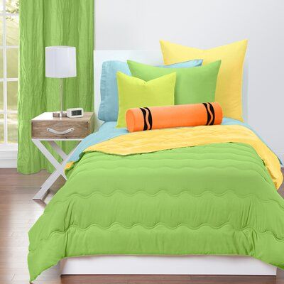 Crayola Llc Crayola I Feel Color Reversible Comforter Set Size