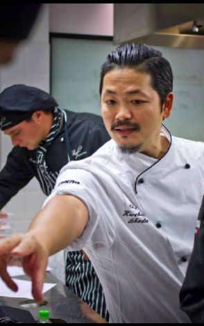 """The Japanese Chef Hirohiko Shoda gives lesson to Chef Program students on """"Finger Food""""! 