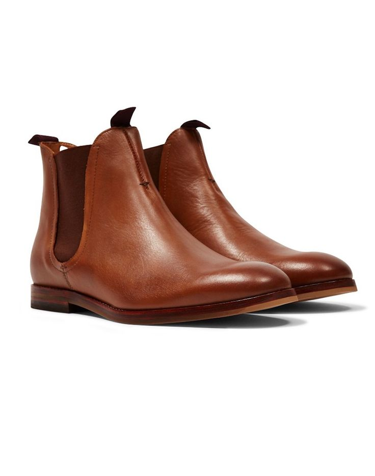 Hudson Tan Chelsea Boots | Shop now at The Idle Man | #StyleMadeEasy