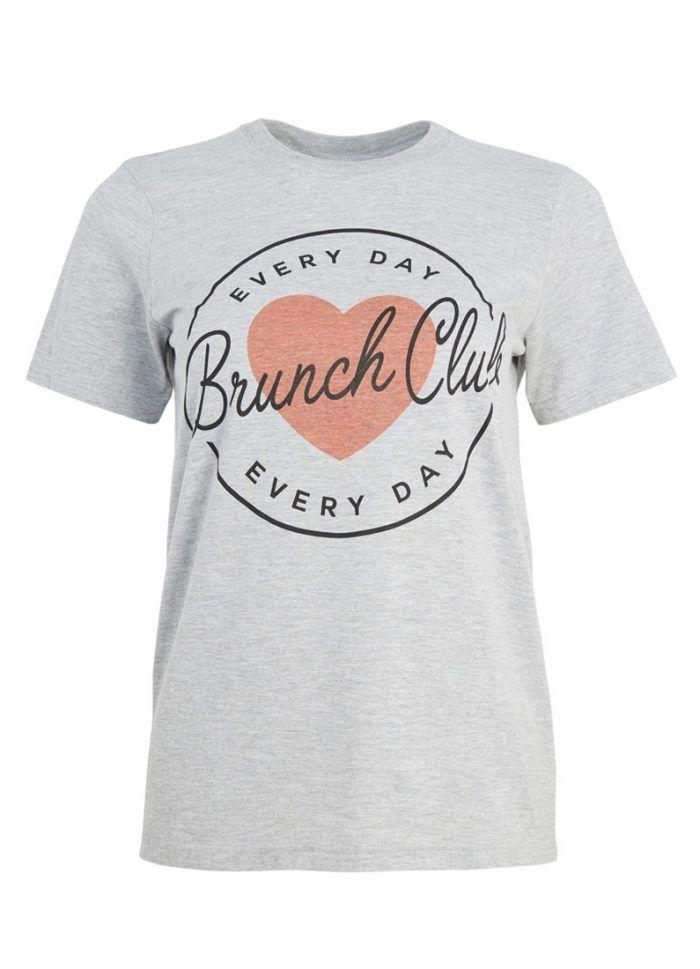 Sunday Brunch Club T-Shirt - Joanie Clothing