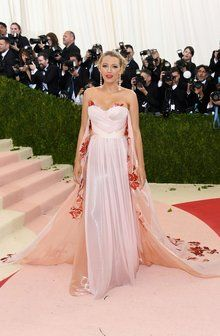 Blake Lively in Burberry at the 2015 Met Gala