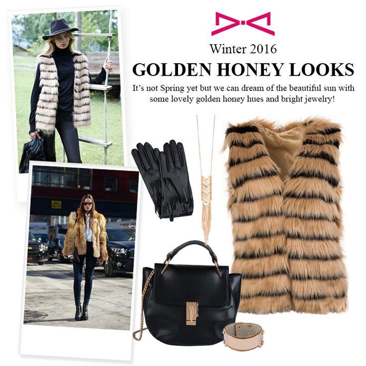 Golden Hues for sweet like honey looks.