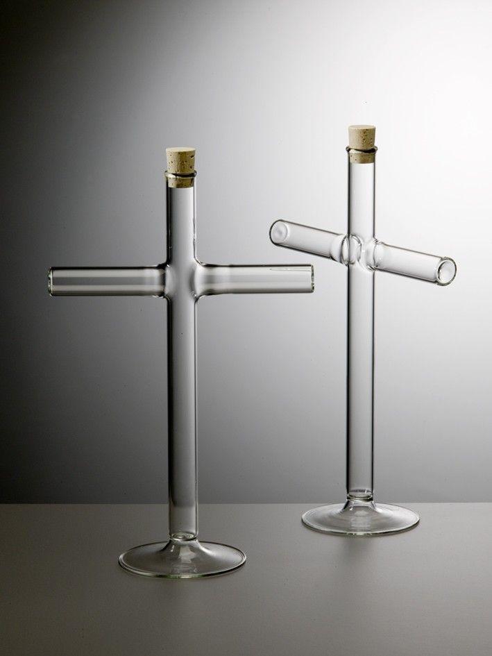 Prague Qubus Design Studio - Cross Vase Remodelista