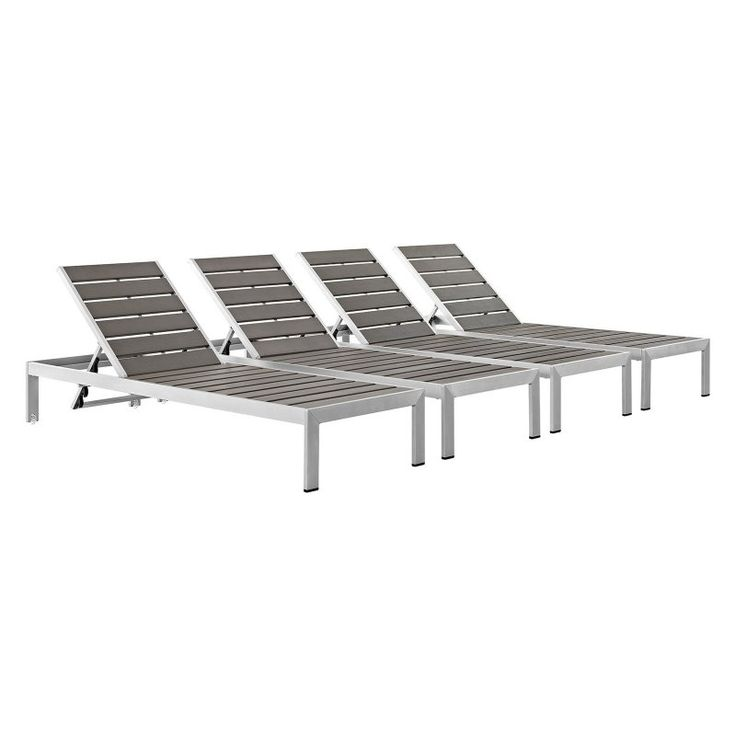 25 best ideas about patio chaise lounge on pinterest for Adams mfg corp white reclining chaise lounge