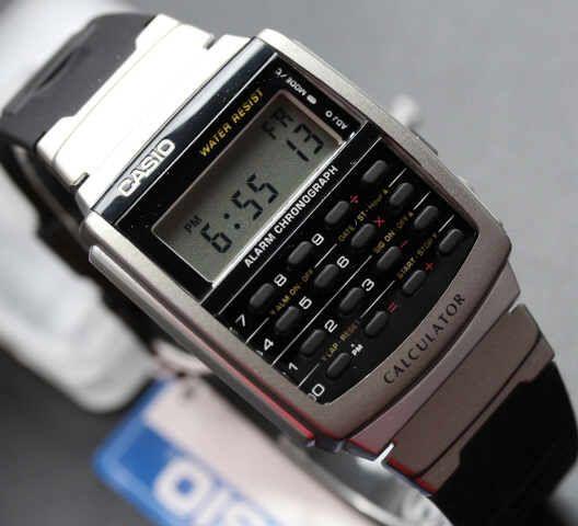 Casio calculator original CA56-1df adalah jam tangan yang memiliki body seperti calculator, langsung saja anda dapat melihat foto Casio calculator original CA56-1df di bawah ini, untuk harga Jam Tangan Casio calculator original CA56-1df kami menawarkan harga sesuai kuwalitas. selain itu Jam Tangan ini Memiliki Garansi resmi Selama Satu Tahun.