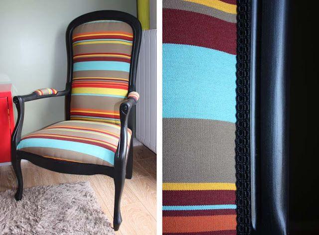 pour mes jolis mômes, mais pas que...: ★ Customiser un fauteuil : TUTO