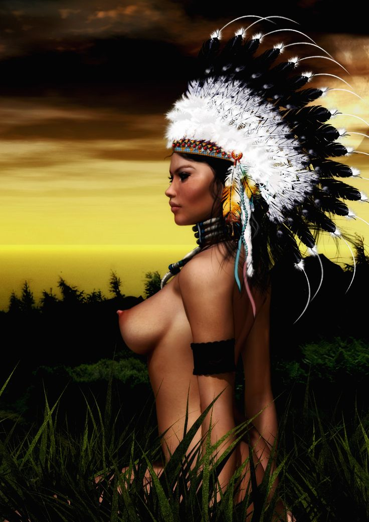 Naked pictures of native american women-6996