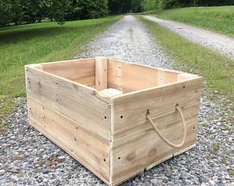 Large Storage Crate Photography Prop Outdoor Storage Crate
