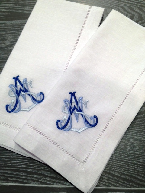 1000  ideas about monogrammed napkins on pinterest
