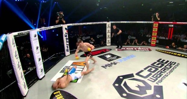 Video: Joseph Duffy's KO of Julien Boussage @ CWFC 74 | TalkingBrawlsMMA.com