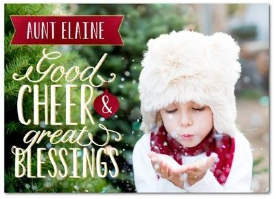 Treat.com Christmas Cards -- easy way to send holiday cards from your laptop or iPhone plus you can add gift cards!