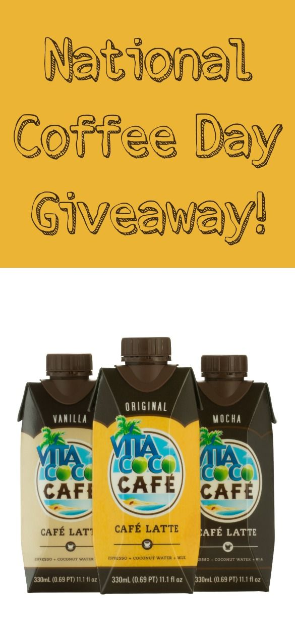 It's National Coffee Day! Come celebrate with a coffee giveaway!