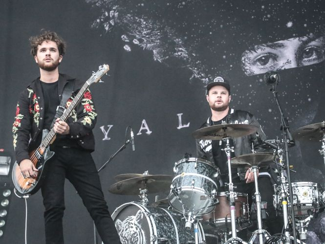 Royal Blood air new material at blistering Reading set | Gigwise