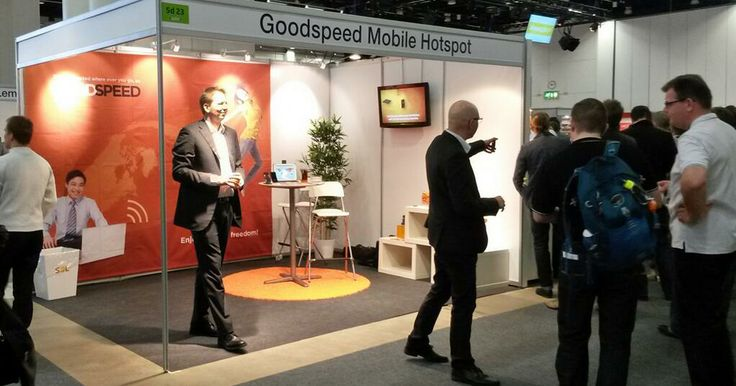 #Goodspeed at the ICTExpo 2014 in Helsinki