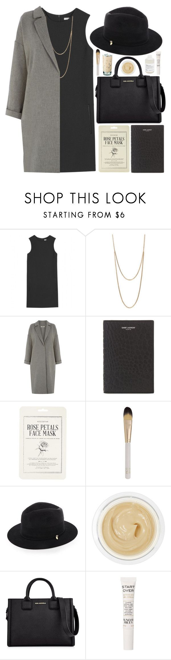 """""""LOVE PLUS ONE"""" by daisyprint ❤ liked on Polyvore featuring Christopher Kane, Club Manhattan, Oasis, Yves Saint Laurent, Forever 21, Eve Lom, Federica Moretti, Chantecaille, Karl Lagerfeld and Sunday Riley"""