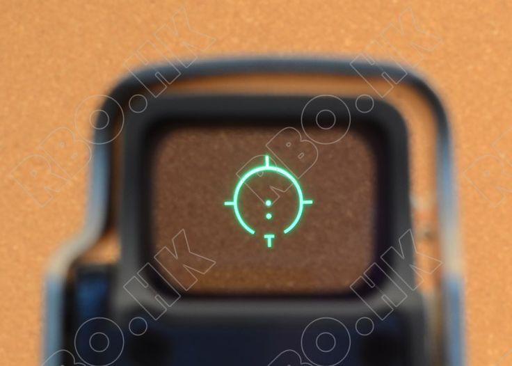 Tactical 1x red Dot Sight Scope QD picatinny rail mount hunting shooting BLACK 558 M7101