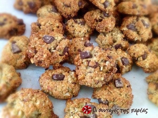 Πανεύκολα και πεντανόστιμα Cookies με βρώμη #sintagespareas