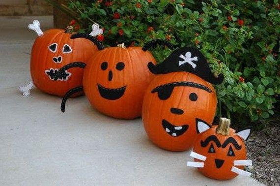Brave pirates - guard house pumpkin / Храбрые пираты - стражи дома из тыквы