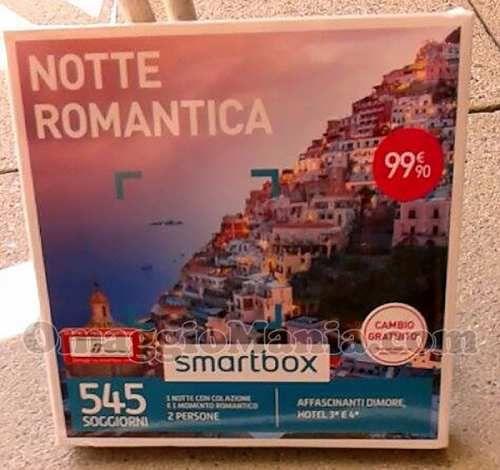 Omaggi: #Cofanetto #Smartbox #Notte Romantica (link: http://ift.tt/2mW3tUC )