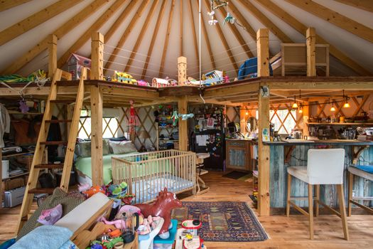 C-ville Weekly/May 2012 Issue: ABODE: Okay, maybe with the kids this would be a little much, but... it's still so tantalizing. Yurt! Yurt!