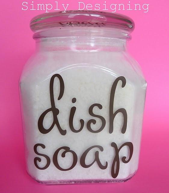 home made dishwasher soap recipe