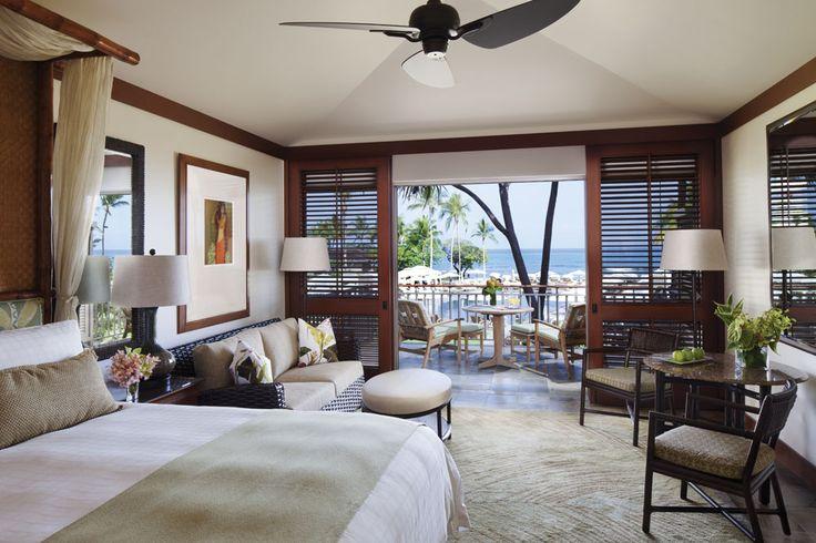 Guestroom at Four Seasons Hualalai Kona, Hawaii, United States
