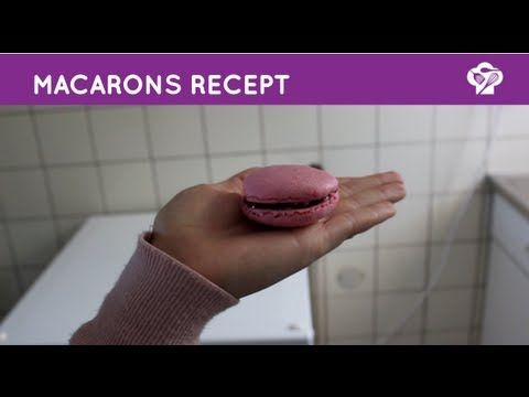 ▶ FOODGLOSS - Macarons - YouTube