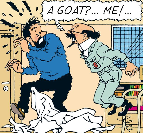 Les Aventures de Tintin - Cuthbert Calculus